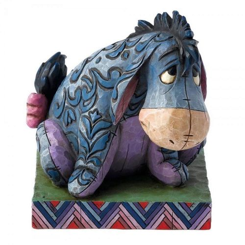 Disney Traditions Eeyore True Blue Companion Figurine
