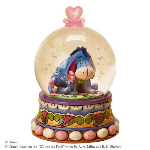 Disney Traditions Eeyore Waterball Gloom to Bloom