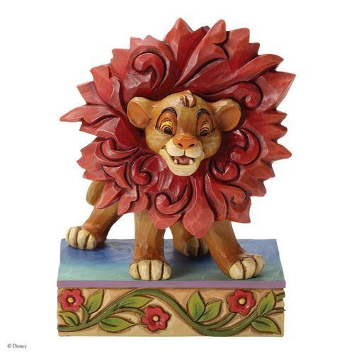 Disney Traditions Lion King Simba Just Can't Wait to be King Figurine
