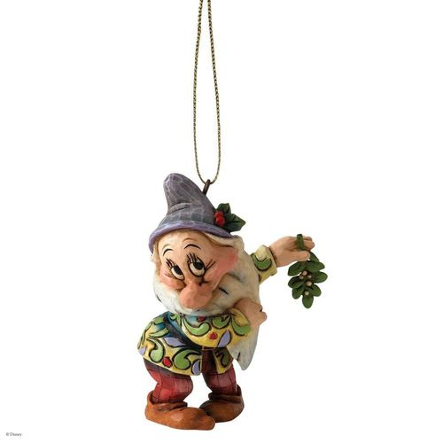 Disney Traditions Bashful Dwarf Christmas Tree Hanging Ornament
