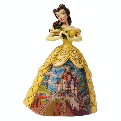 Disney Traditions Beauty And The Beast Enchanted Belle Figurine