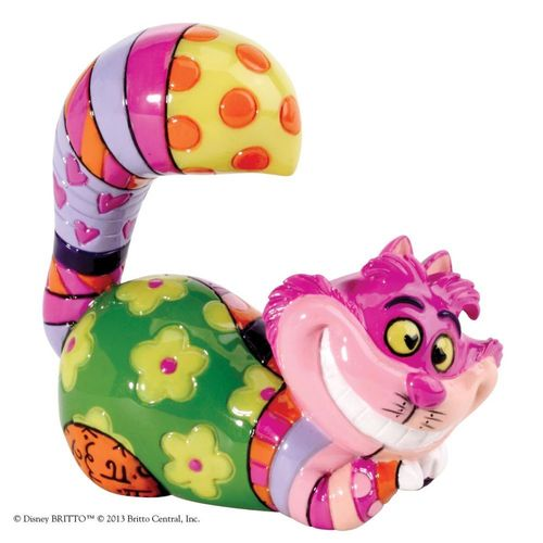 Disney Britto Cheshire Cat Mini Figurine