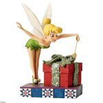 Disney Traditions Pixie Dusted Present Tinker Bell Figurine