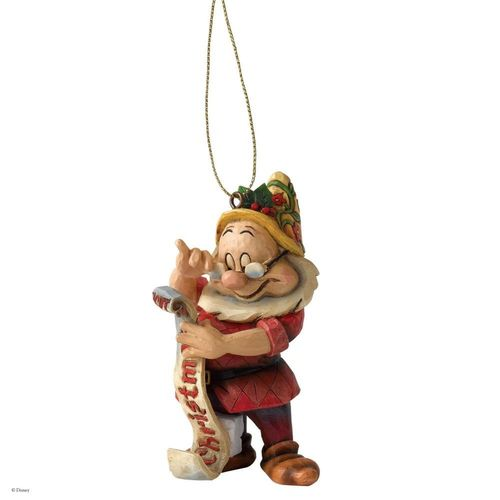 Disney Traditions Doc Dwarf Christmas Tree Hanging Ornament