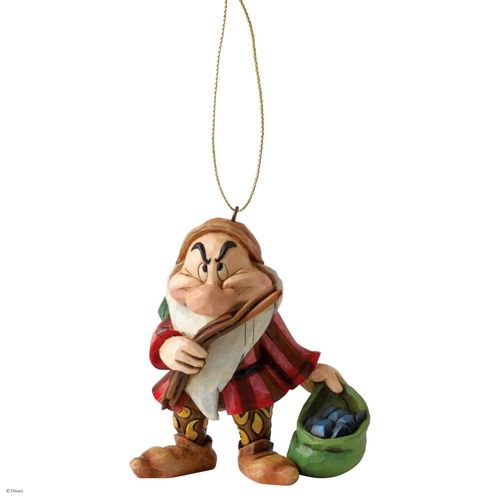 Disney Traditions Grumpy Dwarf Christmas Tree Hanging Ornament