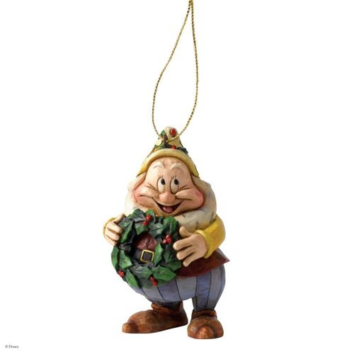 Disney Traditions Happy Dwarf Christmas Tree Hanging Ornament