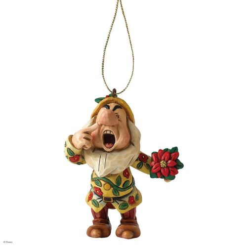 Disney Traditions Sneezy Dwarf Christmas Tree Hanging Ornament