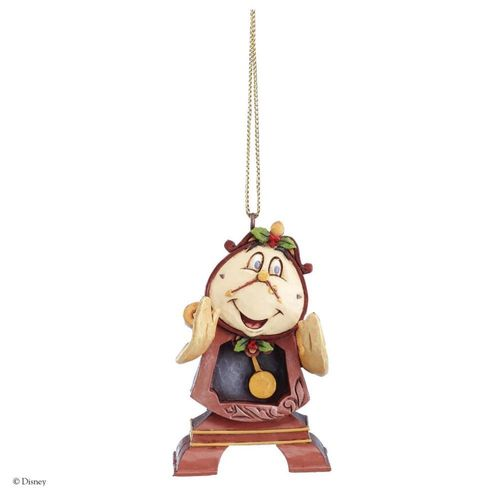 Disney Traditions Cogsworth Christmas Tree Hanging Ornament