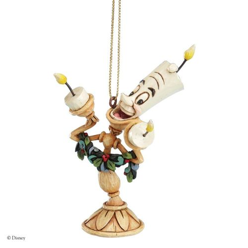 Disney Traditions Lumiere Christmas Tree Hanging Ornament