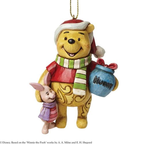 Disney Traditions Pooh Christmas Tree Hanging Ornament