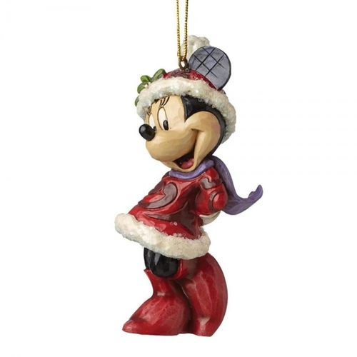 Disney Traditions Sugar Coated Minnie Mouse Hanging Ornament