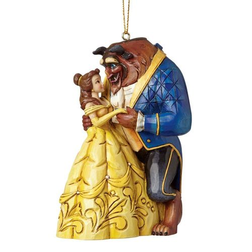Disney Traditions Beauty & The Beast Christmas Tree Hanging Ornament