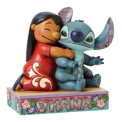 Disney Traditions Ohana Means Family Lilo & Stitch Figurine