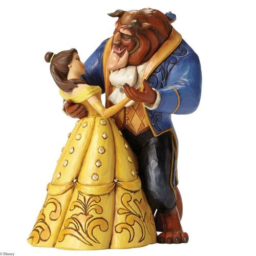 Disney Traditions Moonlight Waltz Belle and the Beast Figurine