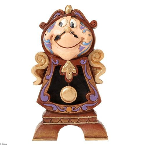 Disney Traditions Keeping Watch Cogsworth Figurine