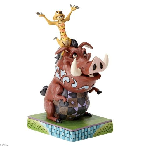 Disney Traditions Carefree Cohorts Timon & Pumbaa Figurine
