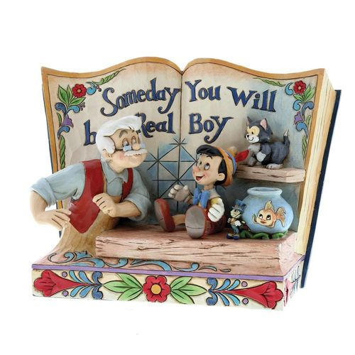 Disney Traditions Someday You Will Be A Real Boy Pinocchio Storybook