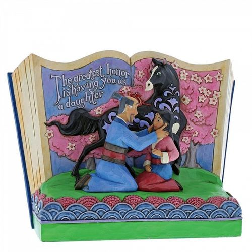 Disney Traditions The Greatest Honor Mulan Storybook