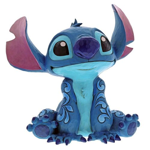 Disney Traditions Big Trouble Stitch Statement Figurine