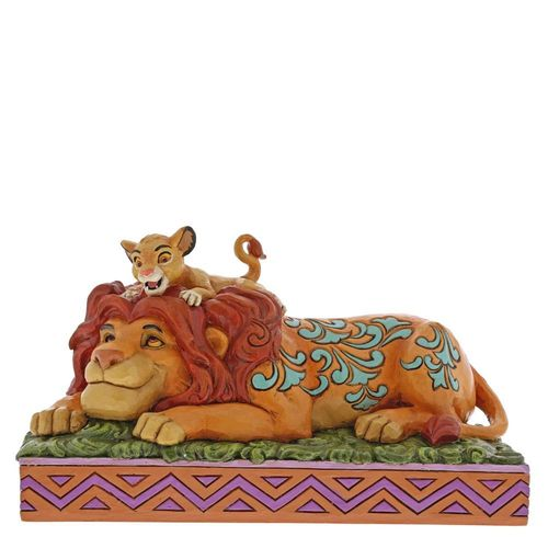 Disney Traditions A Father's Pride Simba & Mufasa Figurine