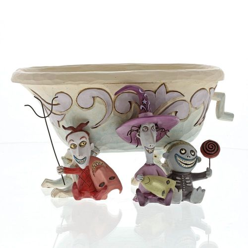 Disney Traditions Tricksters and Treats Lock, Shock & Barrel Figurine