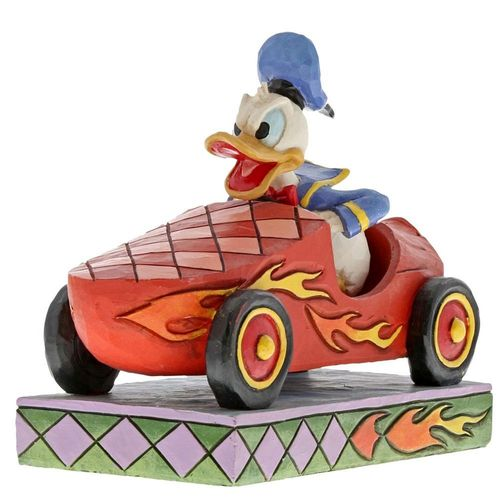 Disney Traditions Road Rage Donald Duck Figurine
