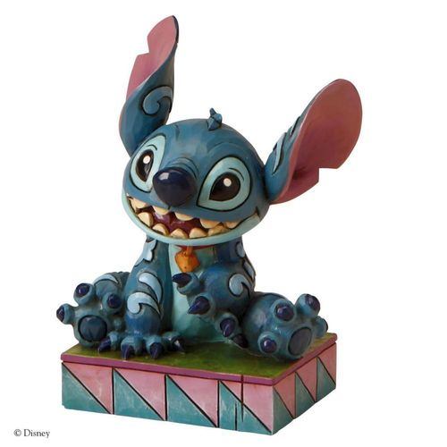 Disney Traditions Ohana Means Family Stitch Figurine