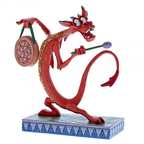 Disney Traditions Look Alive! Mushu Figurine