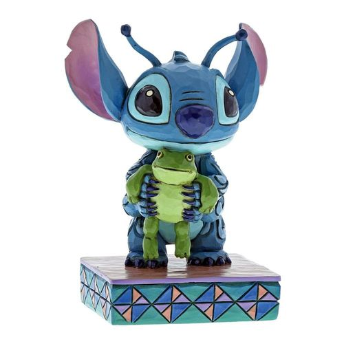 Disney Traditions Strange Life-Forms Stitch with Frog Figurine