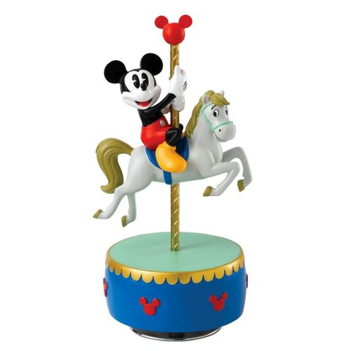 Enchanting Disney Fun Of The Fair Mickey Mouse Figurine