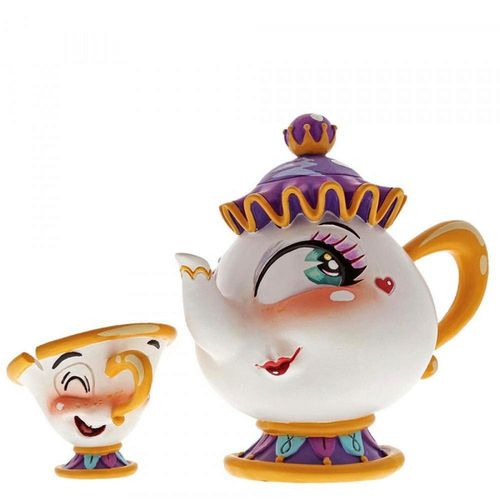 Disney Showcase Miss Mindy Mrs Potts Figurine