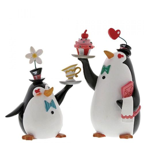 Disney Showcase Miss Mindy Penguin Waiters Figurine