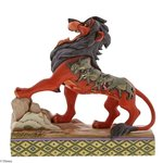 Disney Traditions Lion King Preening Predator Scar Figurine