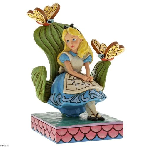 Disney Traditions Curiouser and Curiouser Alice in Wonderland Figurine