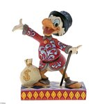 Disney Traditions Treasure Seeking Tycoon Scrooge McDuck Figurine