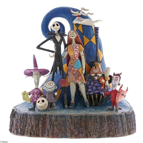 Disney Traditions What a Wonderful Nightmare Carved by Heart