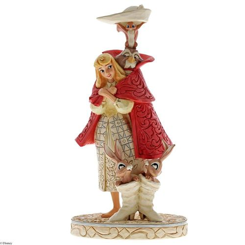 Disney Traditions Playful Pantomime Aurora as Briar Rose Figurine