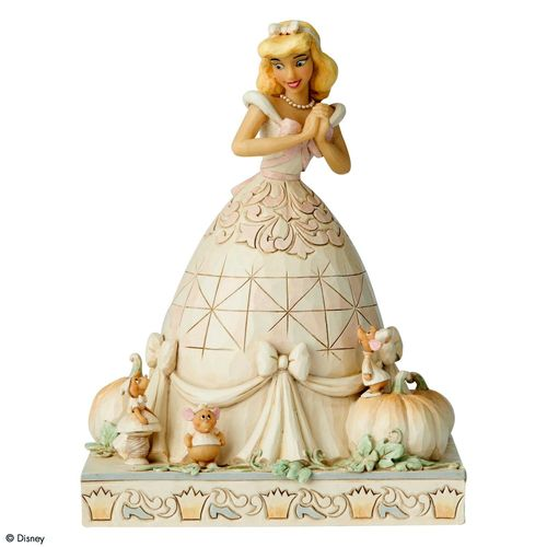 Disney Traditions Cinderella White Woodland Figurine