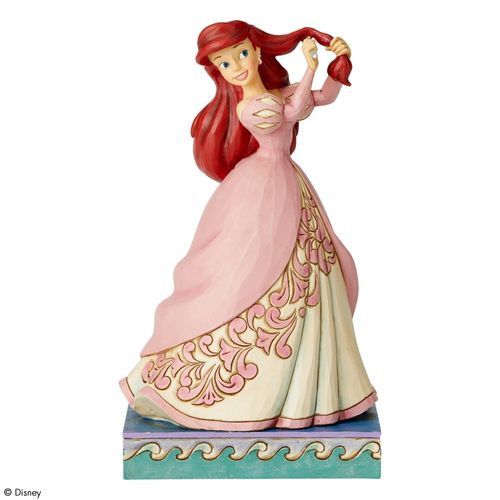 Disney Traditions Curious Collector Ariel Princess Passion Figurine