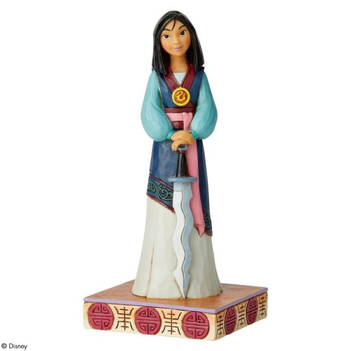 Disney Traditions Winsome Warrior Mulan Princess Passion Figurine