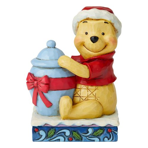 Disney Traditions Holiday Hunny Winnie the Pooh Figurine