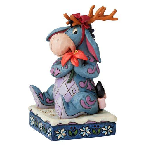 Disney Traditions Winter Wonders Eeyore Christmas Figurine
