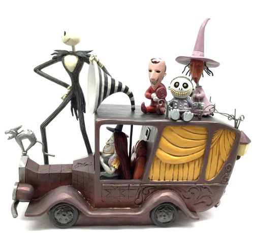 Disney Traditions Terror Triumphant Nightmare Before Christmas Mayor's Car