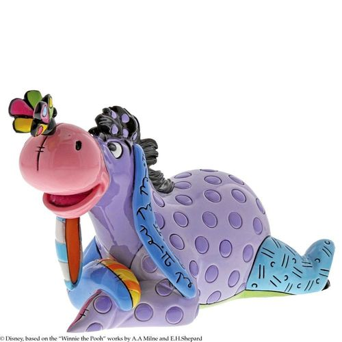 Disney Britto Eeyore with Butterfly Mini Figurine