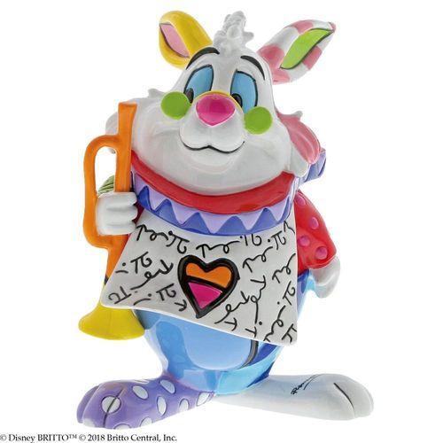 Disney By Britto White Rabbit Mini Figurine