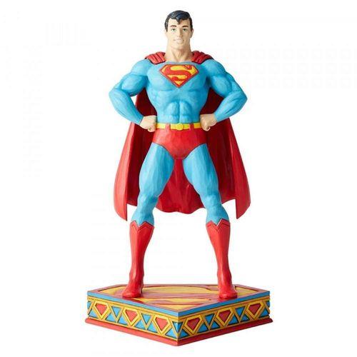 DC Comics by Jim Shore Man of Steel Superman Silver Age Figurine