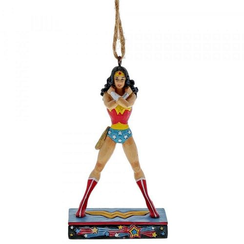 DC Comics by Jim Shore Wonder Woman™ Silver Age Hanging Ornament