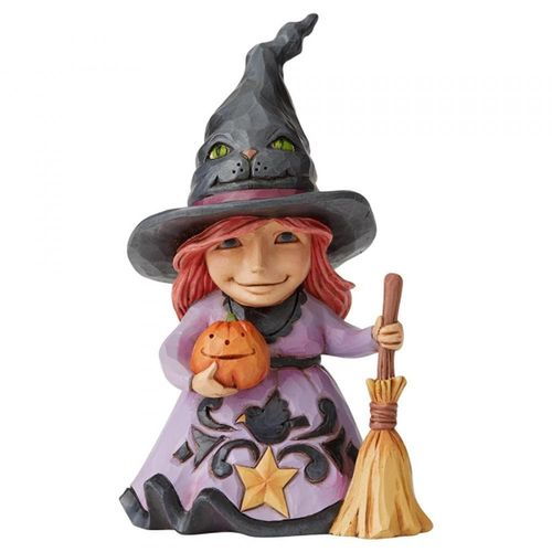 Jim Shore Heartwood Creek Welcome The Magic Friendly Witch Figurine