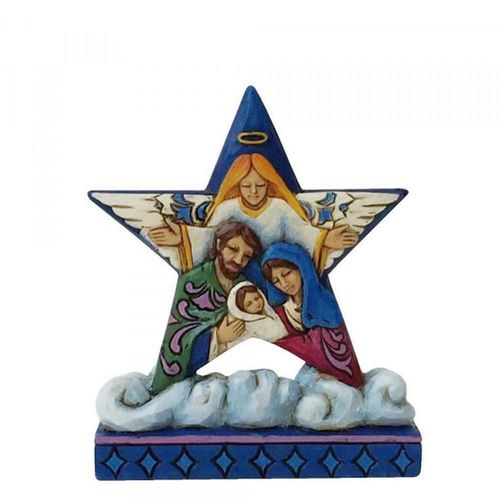 Jim Shore Heartwood Creek Mini Nativity Star on Cloud