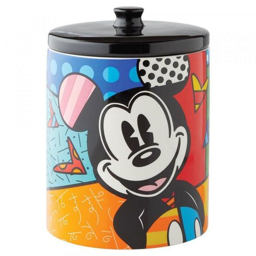 Disney Britto Mickey Canister Cookie Jar Large